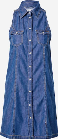 Pepe Jeans Blousejurk 'JESS' in de kleur Blauw denim, Productweergave