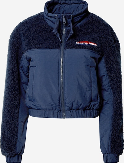 Tommy Jeans Jacke' Mix Media in navy, Produktansicht