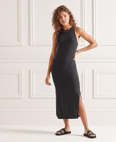Superdry Kleid in schwarz, Modelansicht