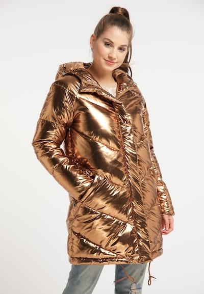 MYMO Mantel in gold, Modelansicht