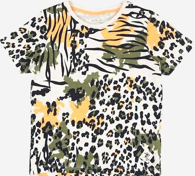NAME IT T-Shirt in gelb / hellgrau / grün / orange / schwarz, Produktansicht