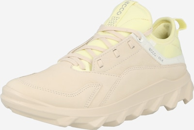 testszínű / sárga / fehér ECCO Rövid szárú edzőcipők, Termék nézet