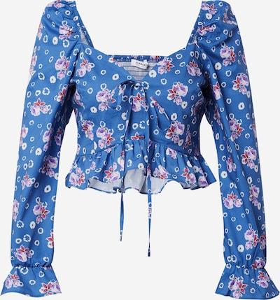 GLAMOROUS T-shirt en bleu / mélange de couleurs, Vue avec produit
