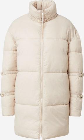 Hoermanseder x About You Winter Coat 'Duffy' in Beige