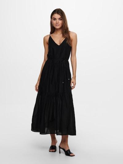 ONLY Vestido de verano 'Vivi' en negro, Vista del modelo