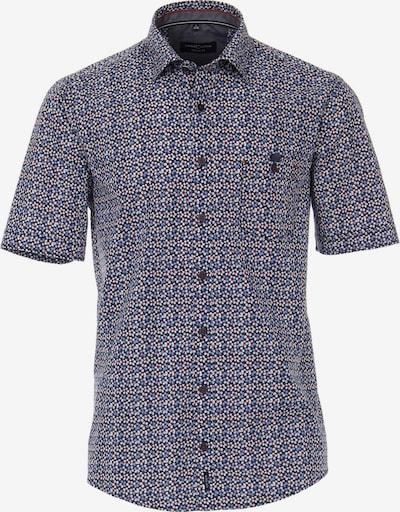 Casa Moda Kurzarm Freizeithemd in blau, Produktansicht
