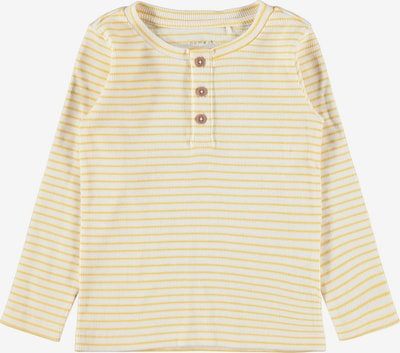 NAME IT Shirt 'SOLO' in creme / goldgelb, Produktansicht