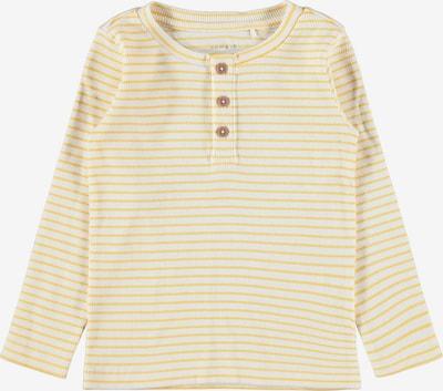 NAME IT T-shirt 'SOLO' i kräm / guldgul, Produktvy