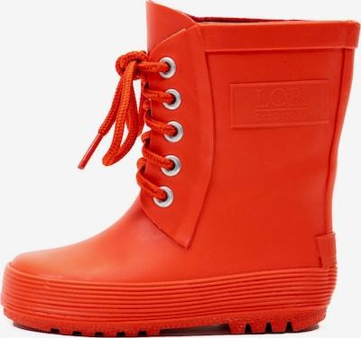 LotOfRain Regenlaarzen in de kleur Rood, Productweergave