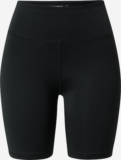 Gina Tricot Панталон 'Samantha' в черно: Изглед отпред