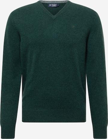 Hackett London Neulepaita värissä vihreä