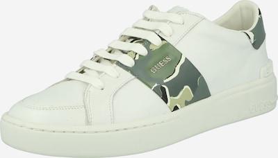 GUESS Tenisky 'VERONA' - zelená / trávově zelená / světle zelená / bílá, Produkt