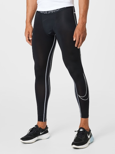 NIKE Športové nohavice - sivá / čierna / biela, Model/-ka