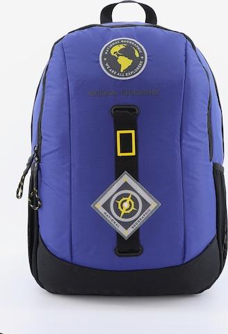 National Geographic Rucksack 'New Explorer' in Blau