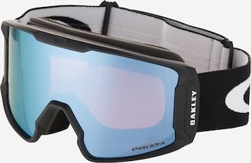 OAKLEY Sportsbriller 'LINE MINER' i svart