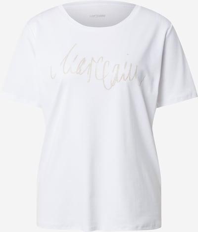 Marc Cain Camiseta en plata / blanco, Vista del producto