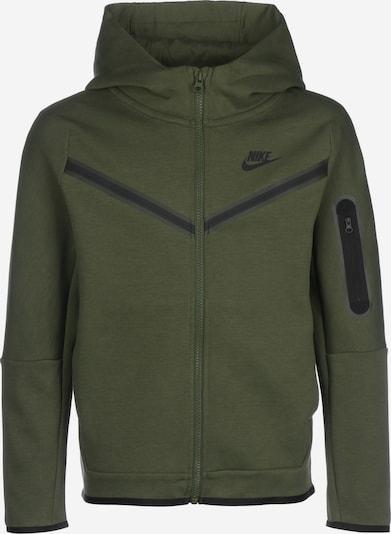 Nike Sportswear Zipper ' Sportswear Tech Fleece ' in tanne / schwarz, Produktansicht