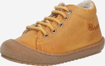NATURINO Copatki za prve korake 'LANA' | rumena barva, Prikaz izdelka