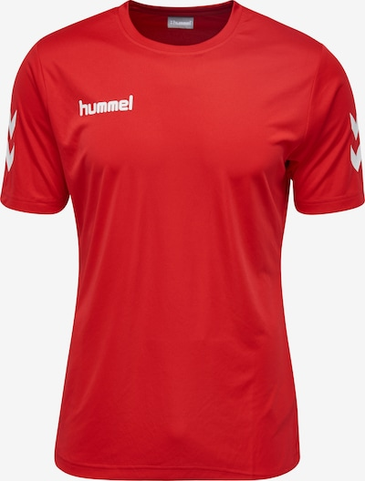 Hummel Functioneel shirt in de kleur Koraal / Rood, Productweergave