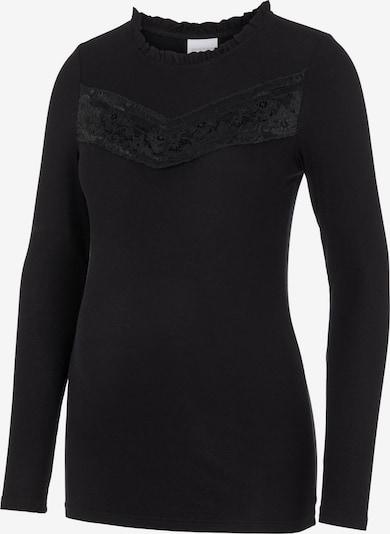MAMALICIOUS T-shirt en noir, Vue avec produit