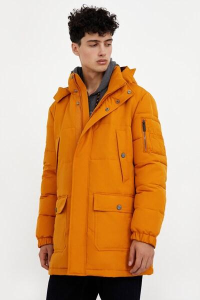 Finn Flare Kurzmantel in dunkelorange, Modelansicht