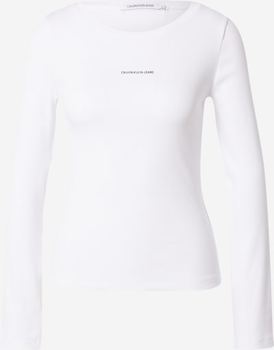 Calvin Klein Jeans Shirt in schwarz / offwhite, Produktansicht
