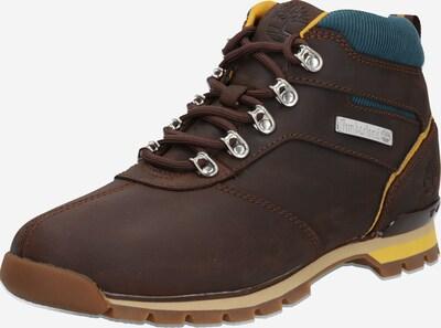 Auliniai batai su raišteliais 'Splitrock 2' iš TIMBERLAND , spalva - dangaus žydra / tamsiai ruda / geltona, Prekių apžvalga
