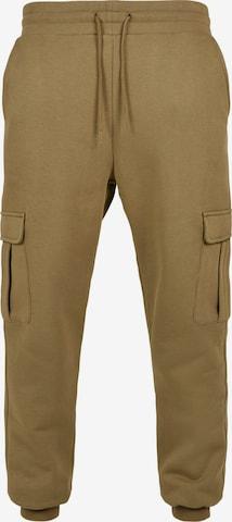 Pantalon cargo Urban Classics Big & Tall en vert