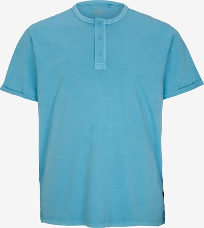 s.Oliver Men Big Sizes T-Shirt in himmelblau, Produktansicht
