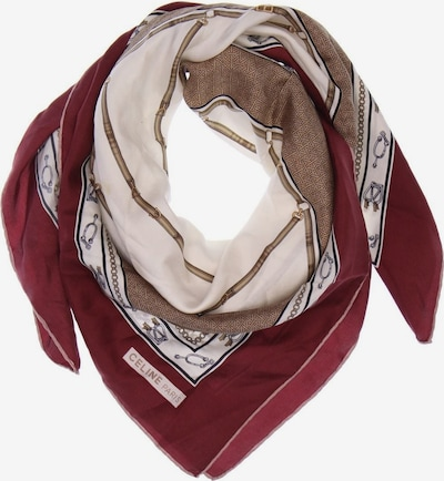 Céline Scarf & Wrap in One size in Caramel / Burgundy / Off white, Item view
