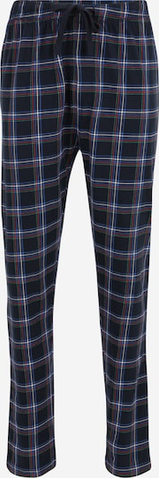 TOM TAILOR Pidžama hlače u kraljevsko plava / tamno plava / crvena / bijela, Pregled proizvoda
