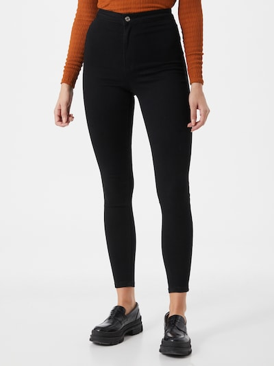 Missguided Jeans 'VICE' in schwarz, Modelansicht