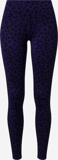 Hey Honey Leggings in dunkelblau / schwarz: Frontalansicht