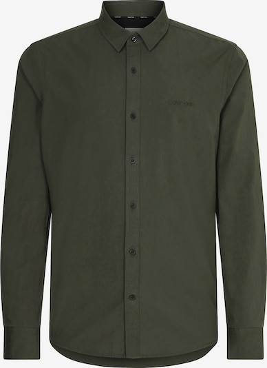 Calvin Klein Hemd in dunkelgrün, Produktansicht
