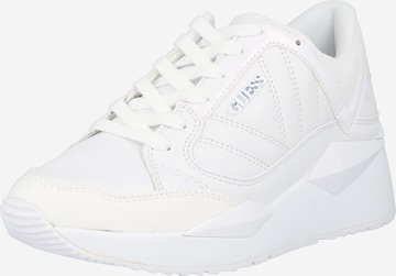 GUESS Sneakers 'TRAVES' in White