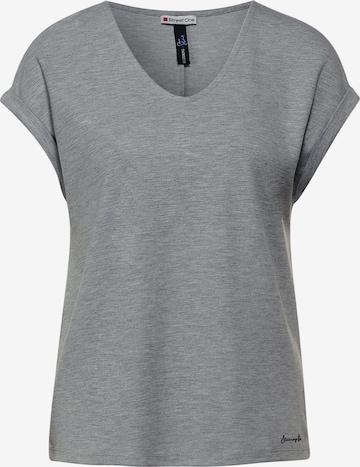 STREET ONE Shirt in Grey
