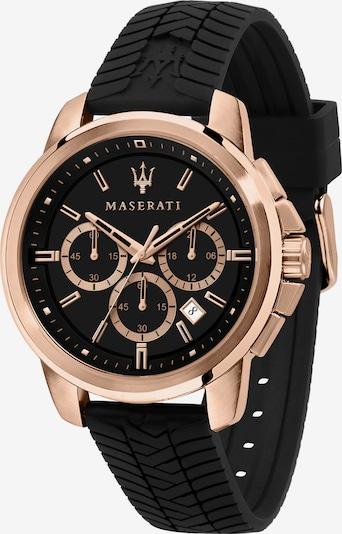 Maserati Uhr 'SUCCESSO 44MM' in rosegold / schwarz, Produktansicht