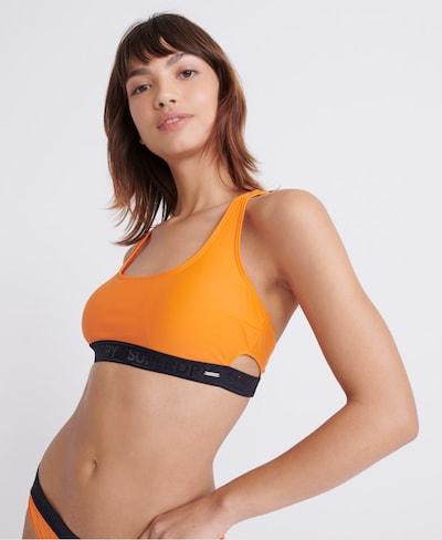 Superdry Bikinitop in de kleur Lichtoranje / Zwart, Modelweergave
