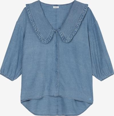 Marc O'Polo DENIM Bluse in blue denim, Produktansicht