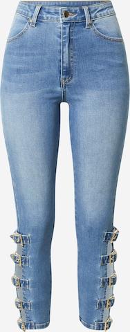 Hoermanseder x About You Jeans 'Fleur' in Blue