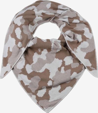 Zwillingsherz Masque en tissu en beige / taupe / gris clair, Vue avec produit