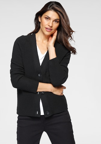 OTTO products Knit Cardigan in Black