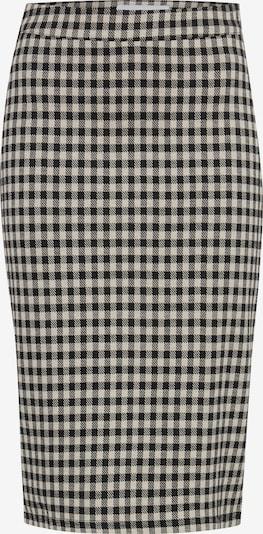 ICHI Rok 'IHKATE CHECKY SK' in de kleur Zwart, Productweergave