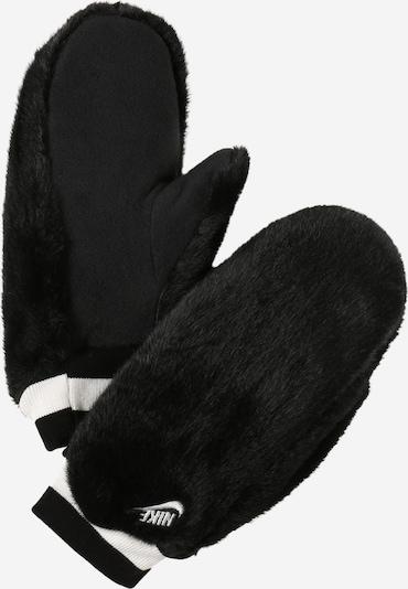 Nike Sportswear Μονοκόμματα γάντια σε μαύρο / λευκό, Άποψη προϊόντος