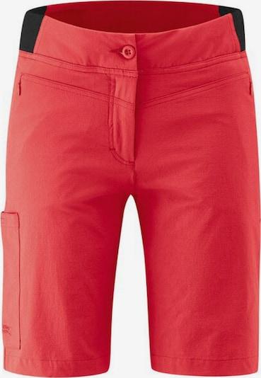 Maier Sports Shorts in rot, Produktansicht