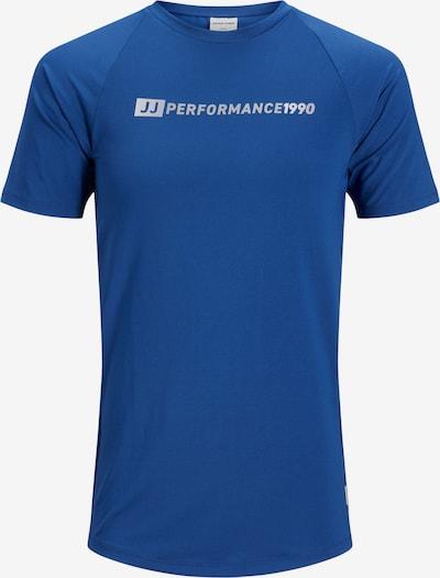 JACK & JONES Shirt in de kleur Blauw / Grijs / Wit, Productweergave