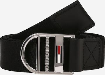 Tommy Jeans - Cinturón en negro