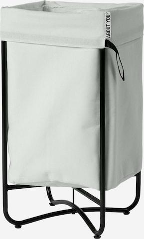 ABOUT YOU Tvättkorg 'Simply Fine' i grå