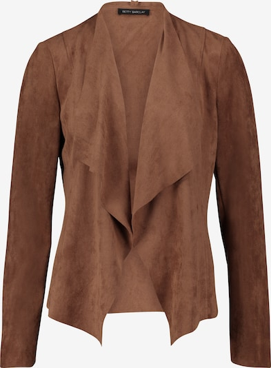 Betty Barclay Casual-Jacke ohne Verschluss in dunkelbraun, Produktansicht