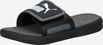 PUMA Beach & Pool Shoes in Black